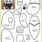 25 выкроек плюшевых медведей. Часть 2.