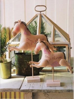 Тильда лошадь и Тильда - лоси. Выкройки.