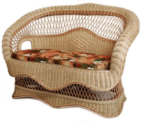 Плетеная мебель. Как плести диваны и