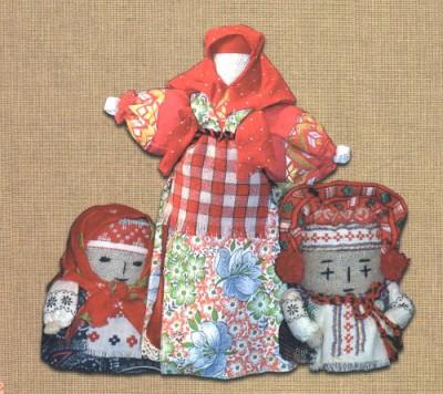 Обрядовая кукла. Древние традиции изготовления тряпичных кукол на Руси.