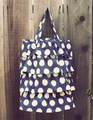 Летняя сумка своими руками.  Инструкция по шитью.