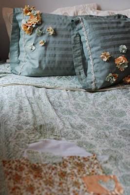 Новая жизнь старого постельного белья.