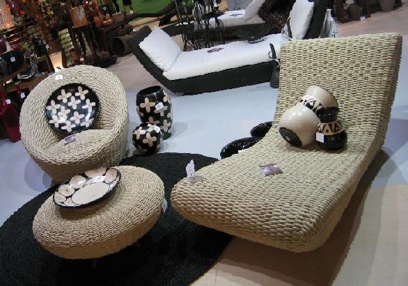 Плетеная мебель в дизайне интерьеров, балконов и веранд (34 фото)