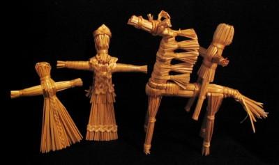 Плетение из соломы - традиционное ремесло наших предков.