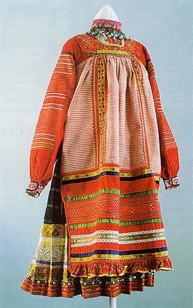 русский национальный костюм фото.