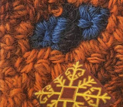 """Этой вышивкой я начала заниматься в далеком...  Мастер-класс  """"Вышивка ковровой техникой с помощью специальной иглы """" ."""