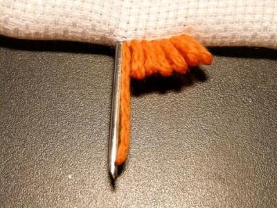 Мастер - класс по созданию нетканых гобеленов (вышивке петлёй, набивке).