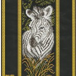 Схемы для вышивания экзотических животных.