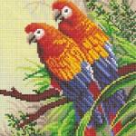 Схемы для вышивания экзотических животных и птиц