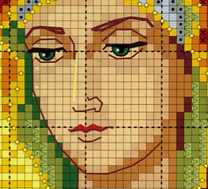 Остробрамская икона схемы для вышивки