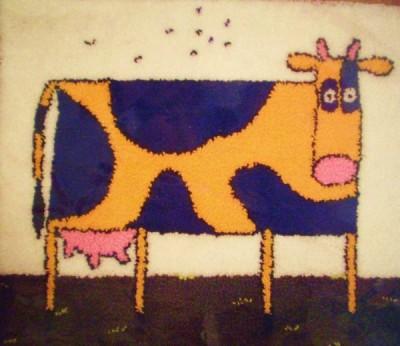 нетканый гобелен.  В школьные годы я училась в детской художественной школе, а затем закончила педагогический...