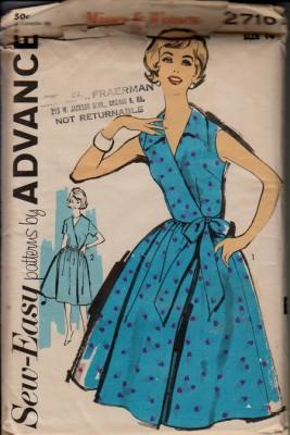 Платья 50 годов выкройки