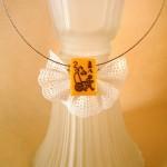 Необычные украшения из воланчика для бадминтона.