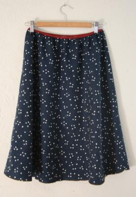 Как быстро и легко сшить лёгкую летнюю юбку.