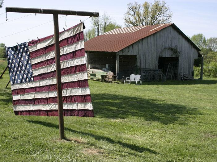 как сшить флаг
