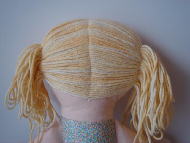Как кукле сделать волосы