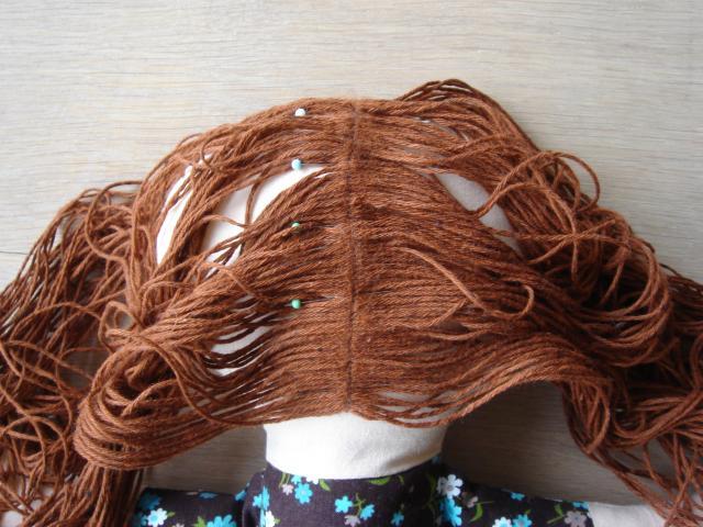 Как сделать парик к домашних условиях