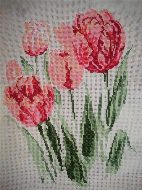 Схемы для вышивания цветов и