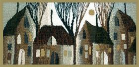 Уроки ткачества от Сергея Салтыкова. Изготовление рамы, техника ткачества.