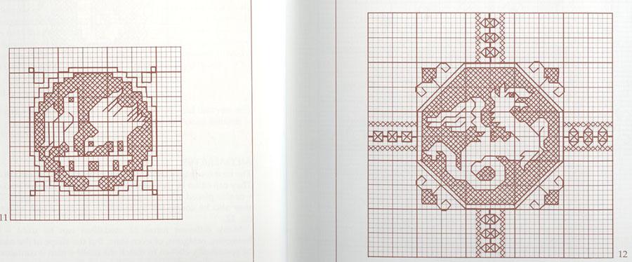 Нажмите на схемы для вышивания