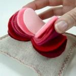 Романтичный подарок - валентинка - саше.
