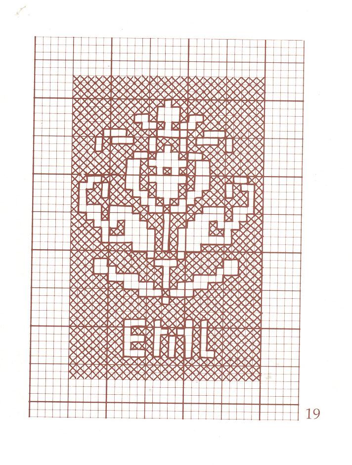 Схемы для вышивания. Часть 2.