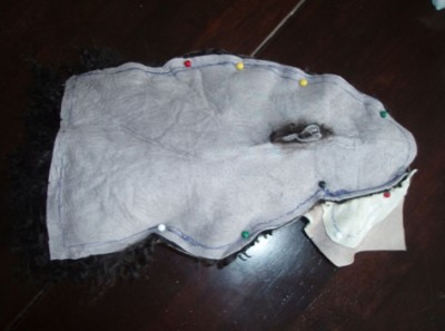 Мастер - класс по шитью Тильда - овечки из меха.