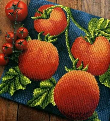 """""""содержит схемы для вышивки таких овощей, как морковь, перец, помидор и тыква.  Как мы уже писали, вышивкой на..."""