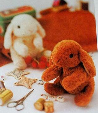 Мягкая Выкройка Пасхального Кролика