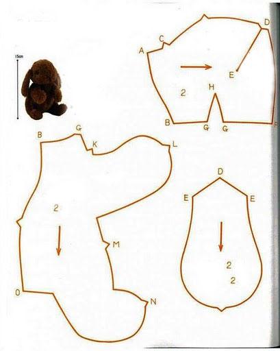 Выкройки для шитья мягкой
