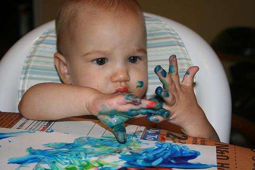 Рецепты красок для детей. Игра