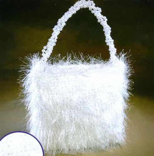 Вязание сумочки для невесты.