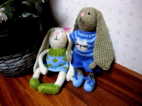 вислоухий заяц амигуруми описание вязания рукоделие и хобби