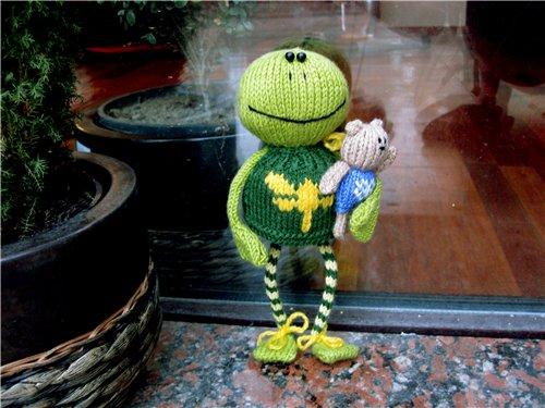Схема Вязания Лягушки