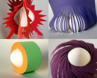 Пасхальная геометрия. Как подать яичко к Пасхе.