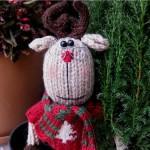 Схема вязания оленя - амигуруми. Забавный подарок своими руками.