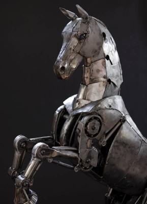 Механическая лошадь Эндрю Чейза.