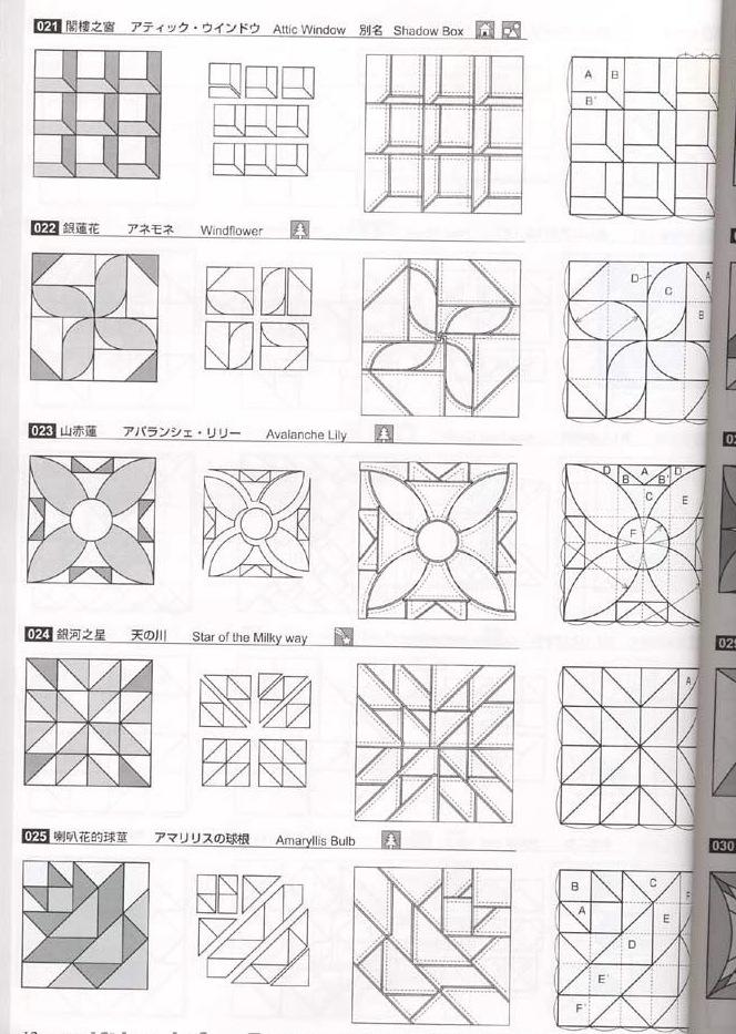 Схемы картины из лоскутков ткани своими руками