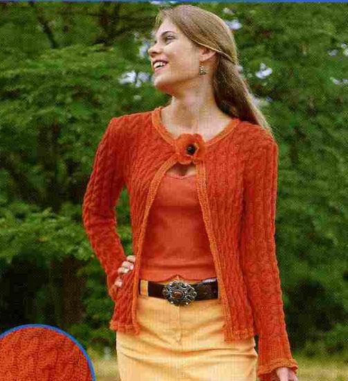 Вязание кардиганов спицами - Кройка и