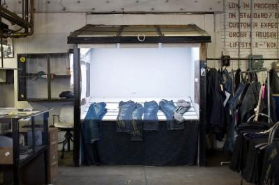 Как делают джинсы. Фото отчёт.