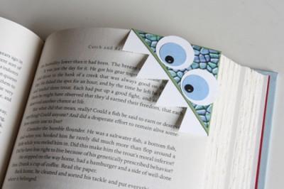 Закладки - уголки. Весёлое чтение для детей и взрослых.