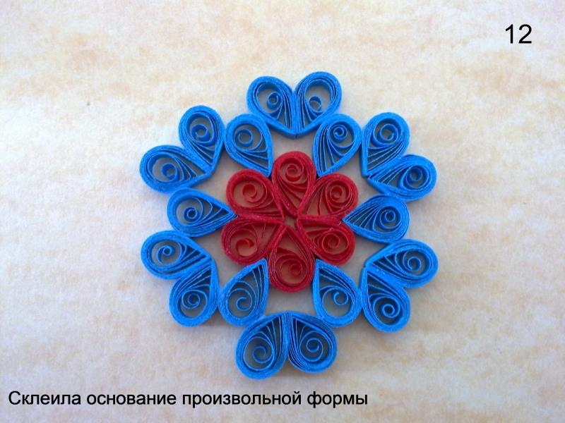 Квиллинг легкие поделки цветы 72