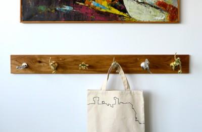 Вешалка для сумки своими руками