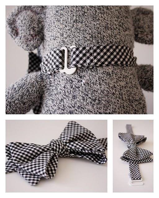 Как сшить галстук для малыша.