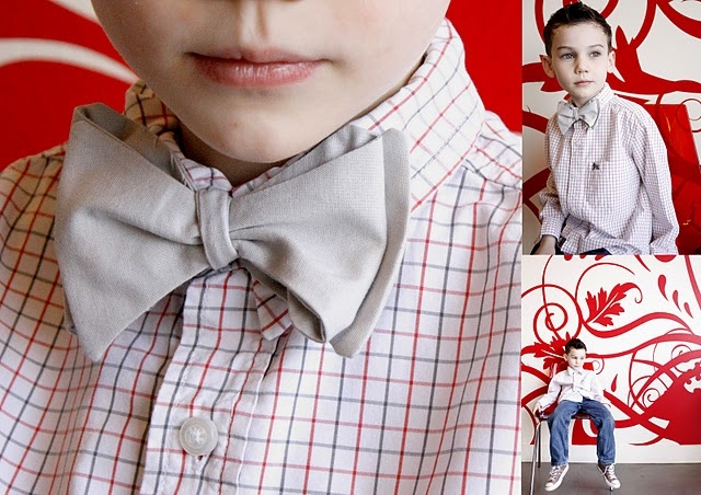 Как сделать галстук бабочка для ребенка своими руками