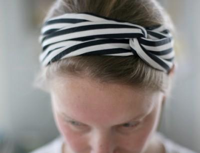 Модная лента для волос.