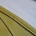 Широкий кожаный пояс с шестиуголинками - сшей сама.