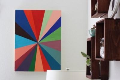 Живописное полотно для начинающих художников.