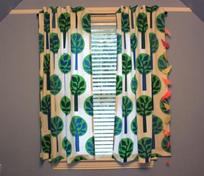 Сделай сам. Простые, но стильные шторы - занавески.