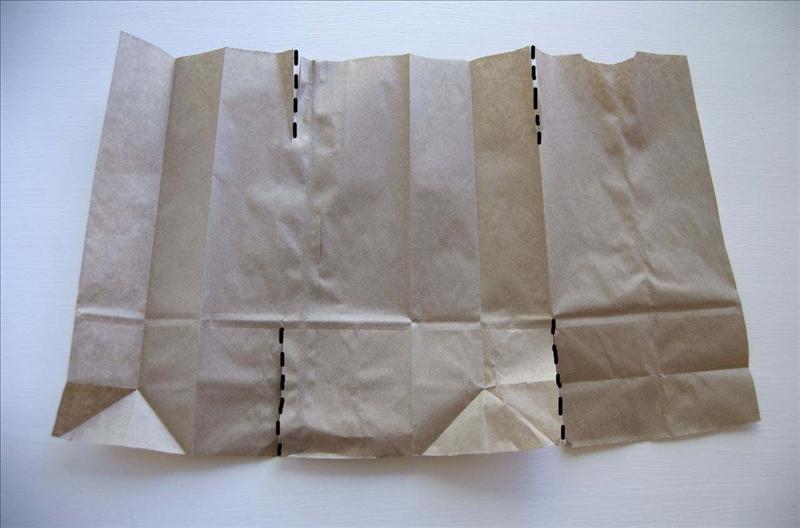 Как делать бумажные пакеты своими руками